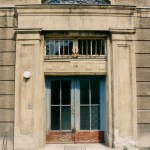 Eingangsbereich der Bahnhofstraße 34 (1997)