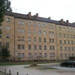 Rückseite der Bahnhofstraße 34-36 (2000)