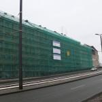 Gesamtansicht der Bahnhofstraße 34-36 im Bau (Frühjahr 2013)