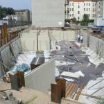 28. Juli 2014: Schnell nimmt der Keller Gestalt an