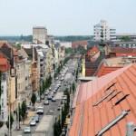 Juli 2015 - Blick über vom Dach der Bahnhofstraße 37